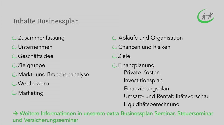 Seminare für Existenzgründer