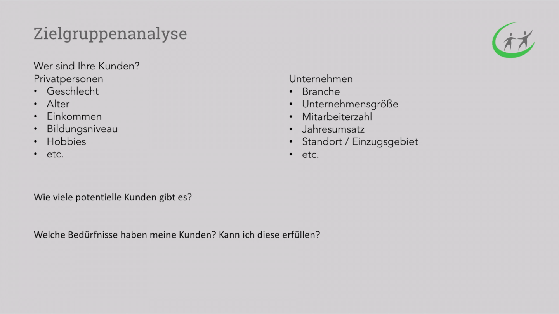 Startup Marketing - Zielgruppenanalyse